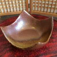 お気に入りの苔玉をグレードUP! 信楽焼皿C